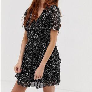 ALL SAINTS illia pippa mini dress worn once